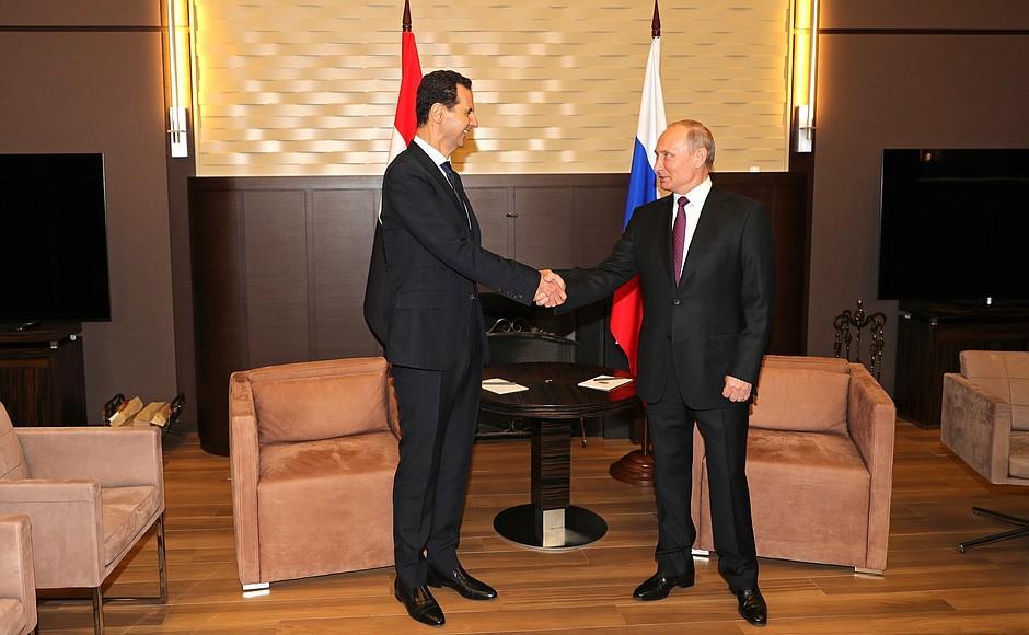 Башар Асад неожиданно прибыл в Сочи – СМИ раскрыли цель визита