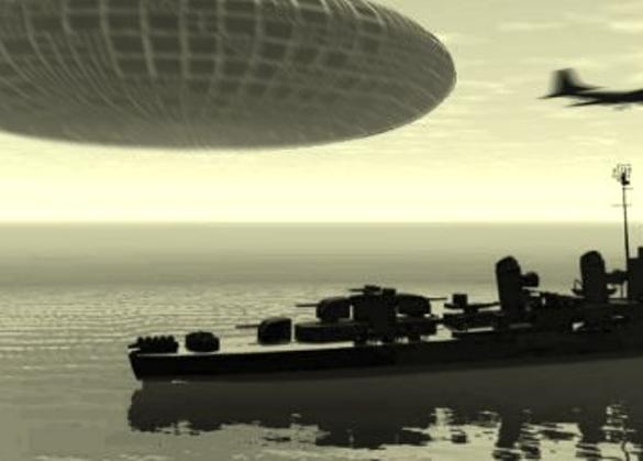 Бесстрашный инопланетный корабль атаковал американский ракетоносец