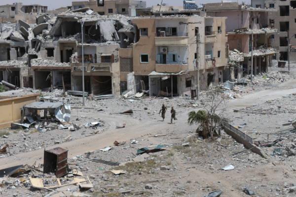 Официальный Дамаск считает геноцидом действия международной коалиции в городе Ракке
