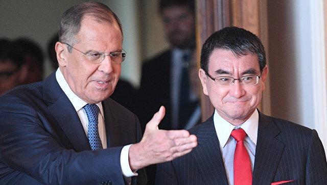 В МИД РФ прокомментировали желание японских дипломатов провести закрытый брифинг после переговоров с российской стороной