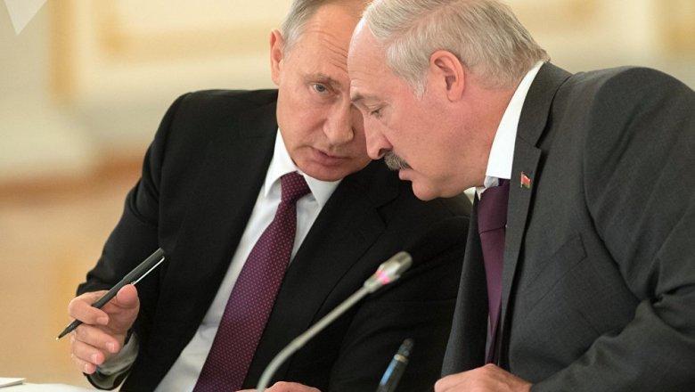 Владимир Путин и Александр Лукашенко провели переговоры в Сочи