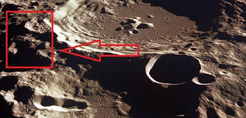 Луна картинки нло