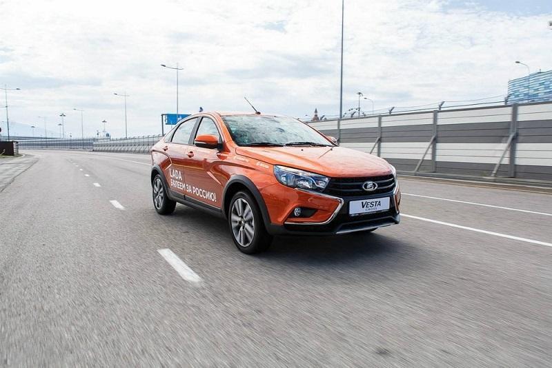 Волжский автомобильный завод запустил вТольятти производство Лада XRAY Cross
