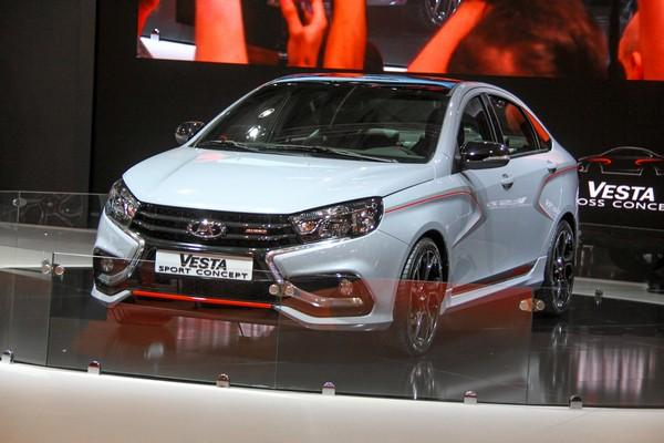 Спортивная версия седана Лада Веста представлена официально – АвтоВАЗ