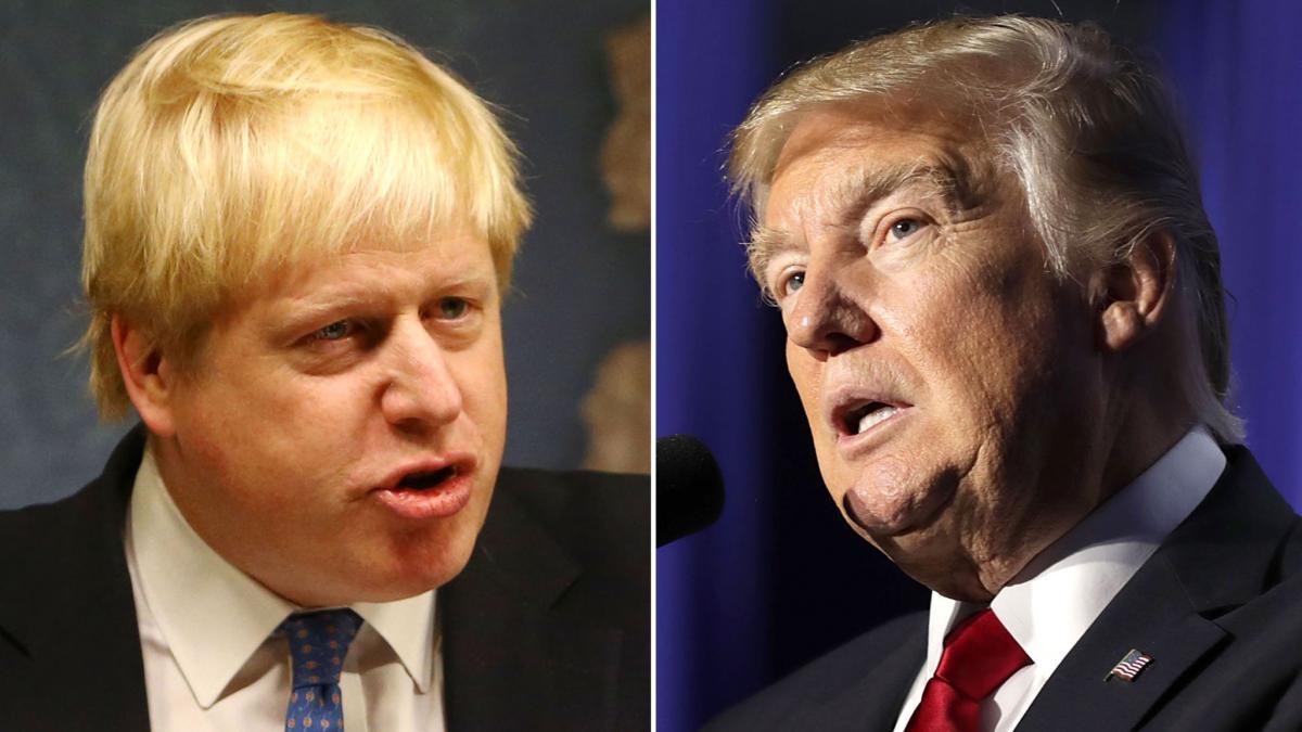 Трамп и Джонсон предупредили о гуманитарной катастрофе