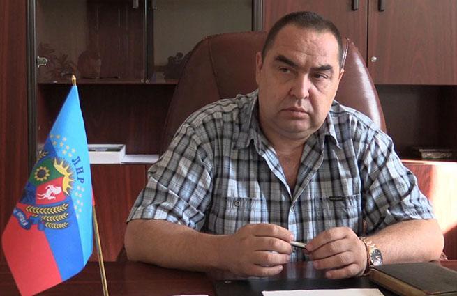 В Луганске подорвали машину главы ЛНР Игоря Плотницкого