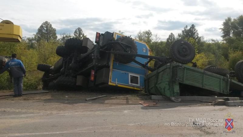 ВЖирновске шофёр ВАЗа умер, въехав вКАМАЗ