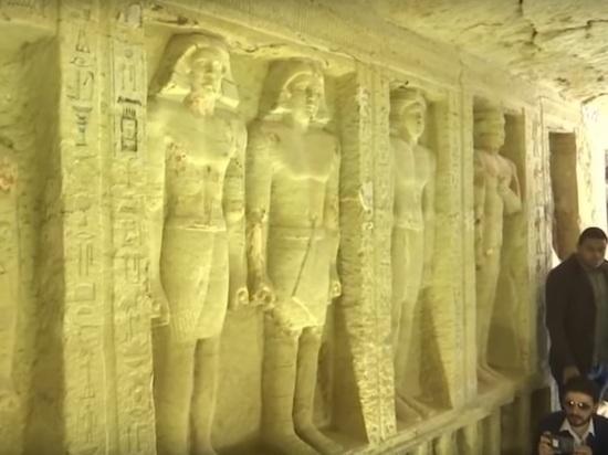 В Египте учеными обнаружена уникальная гробница