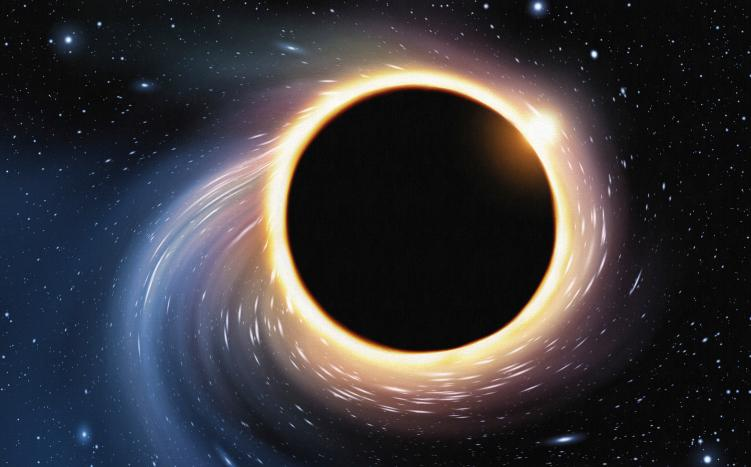 """Ученые обнаружили """"блуждающую"""" черную дыру"""