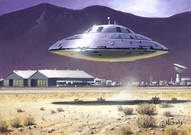 Тайна секретной «зоны 51» шокирует безымянными самолетами, которыми управляют пришельцы