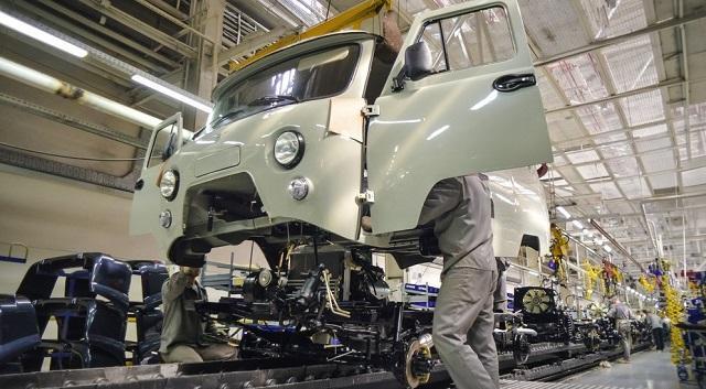 Производство УАЗ-452