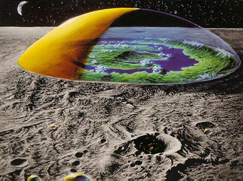 На Луне парящий дом гуманоидов в кратере Тихо сбивает с толку ученых НАСА
