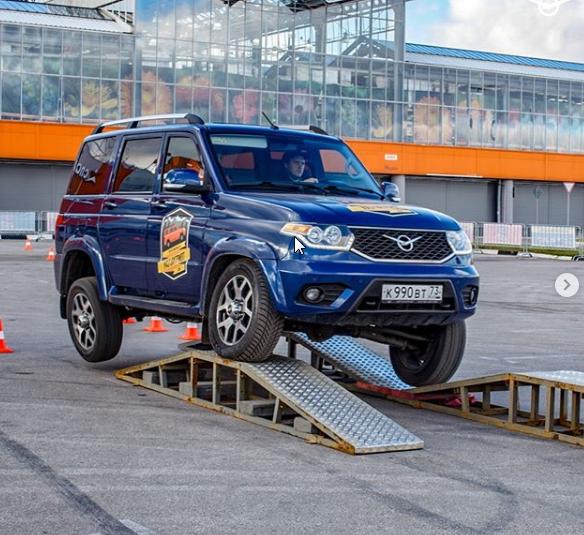 Новый Внедорожник УАЗ Патриот-2019 сильнее слона, выяснили на заводе УАЗ
