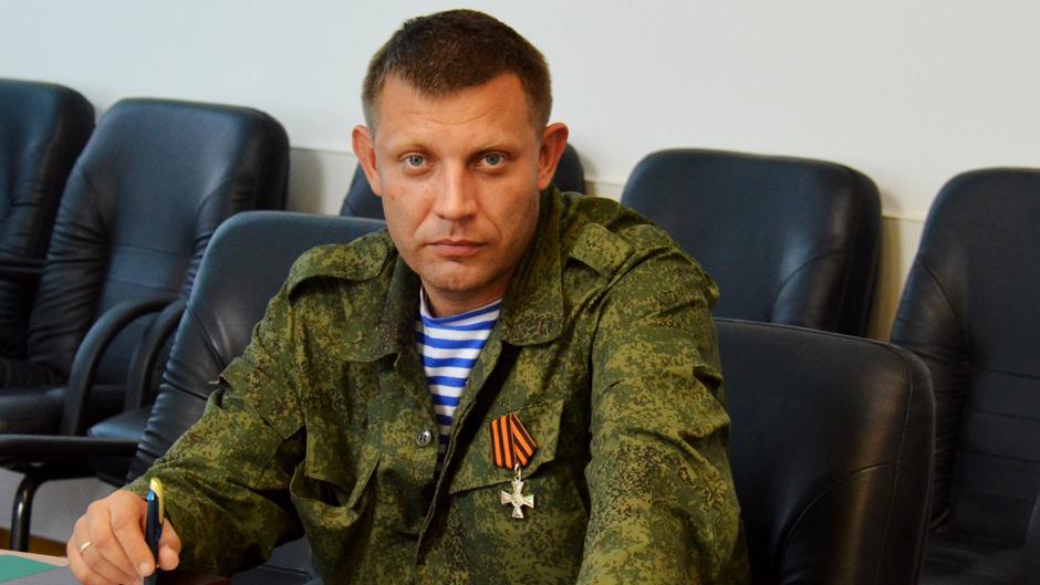 Захарченко рассказал, как дождь «смыл» парадную технику ВСУ