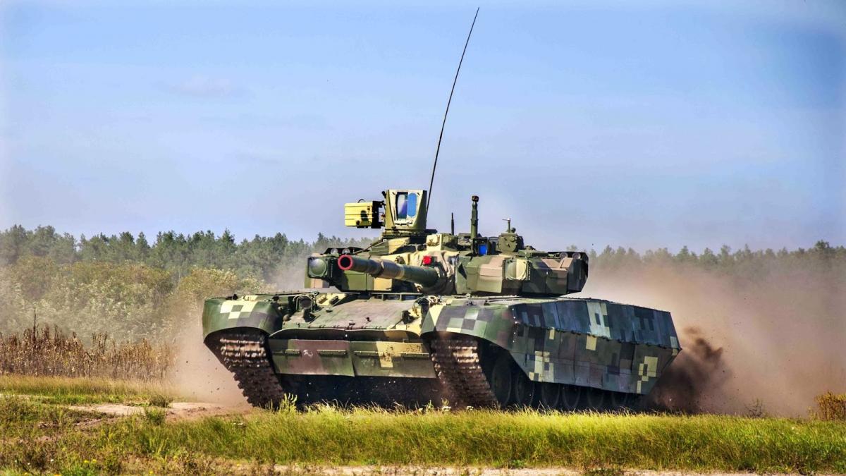 На Украине заявили о бесполезности танков «Оплот»