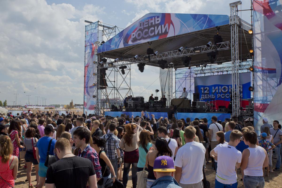 День России 2017 в Санкт-Петербурге