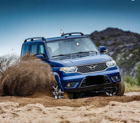 Внедорожник УАЗ Патриот-2019 в новом кузове меняет шины по совету британских экспертов