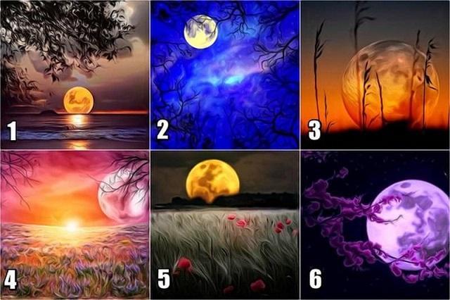 Тест на характер: выбери луну и узнай, какие ошибки преследуют тебя по жизни