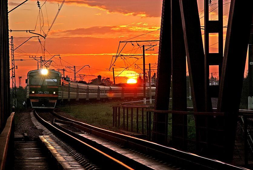 ДТП с поездом