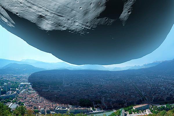 астероидный Армагеддон, который угрожает кошмарной катастрофой всему человечеству.