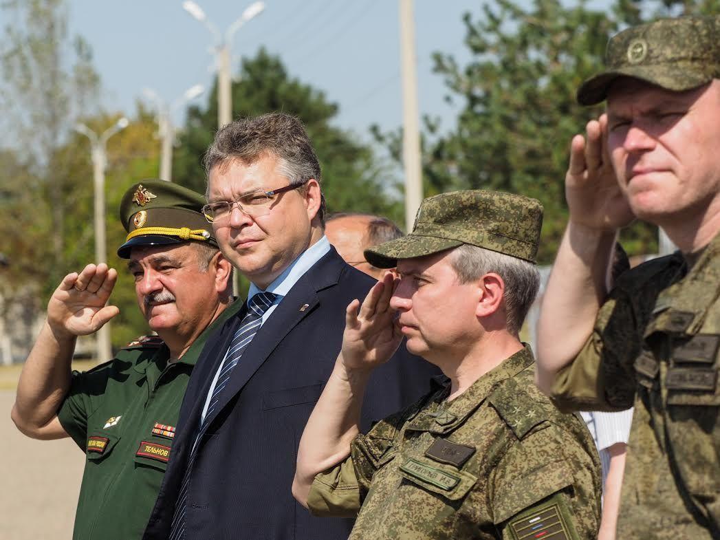В Ставропольском крае сформирован полк территориальной обороны