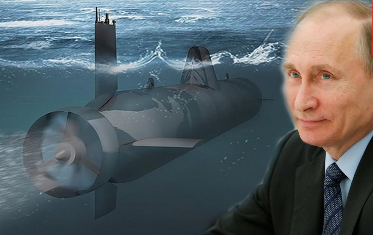 """Путин проследил за спуском первой подлодки-носителя """"Посейдона"""" на воду"""