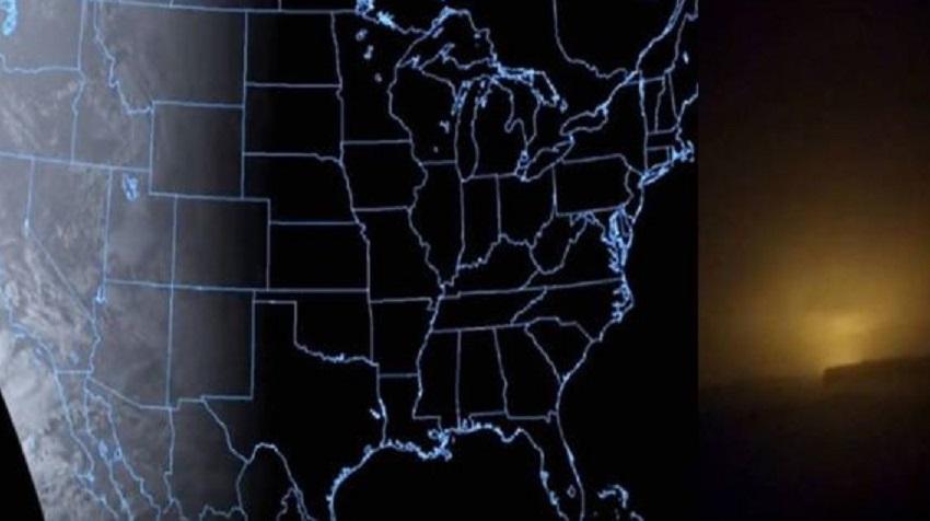 Странный источник света в ночном небе: загадочные аномалии фиксирует по всей планете