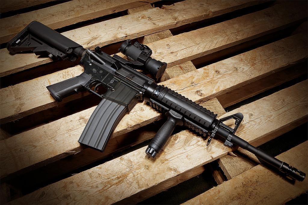 Американские винтовки М16 будут делать вУкраинском государстве