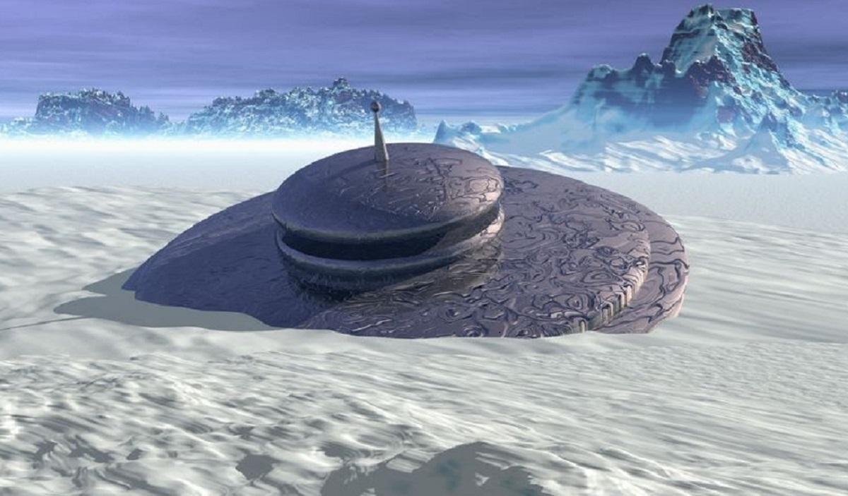 Где в Антарктиде скрываются инопланетяне, показал взлетающий неопознанный объект