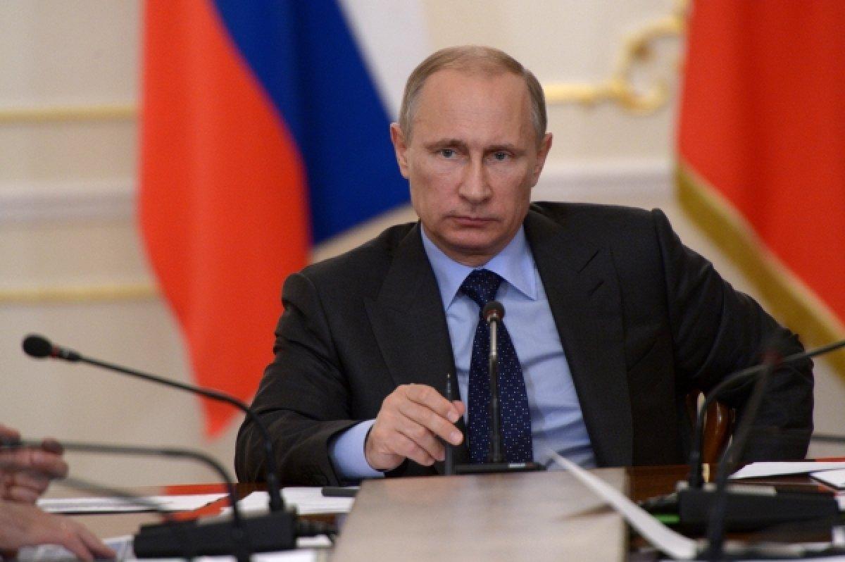 Путин принял запрет в отношении Украины
