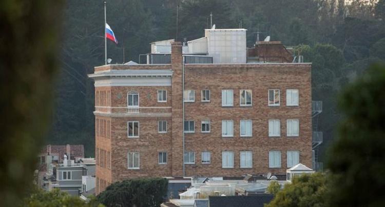 Замглавы МИДРФ назвал национальным хулиганством осмотр консульства Российской Федерации вСША