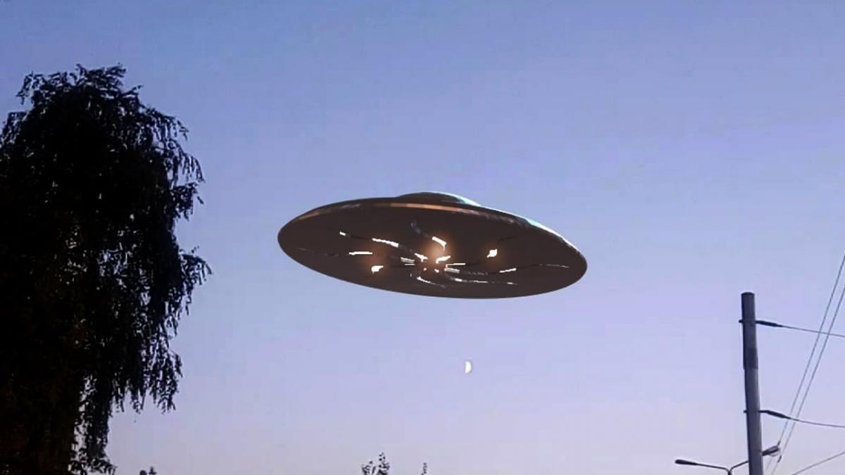 Инопланетяне дерзко вмешались в жизнь людей, в течение часа корабль вел разведку