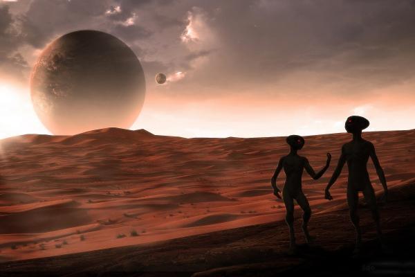 НаМарсе проживает «живой камень», оставляющий мистичные следы наповерхности