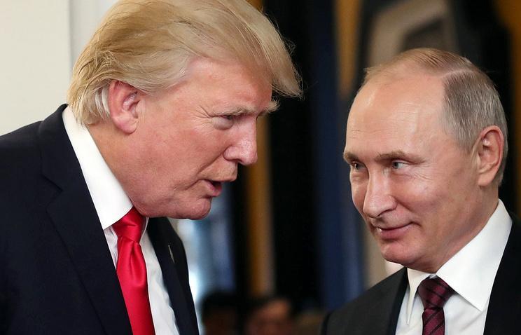 Стали известны подробности письма Трампа Путину