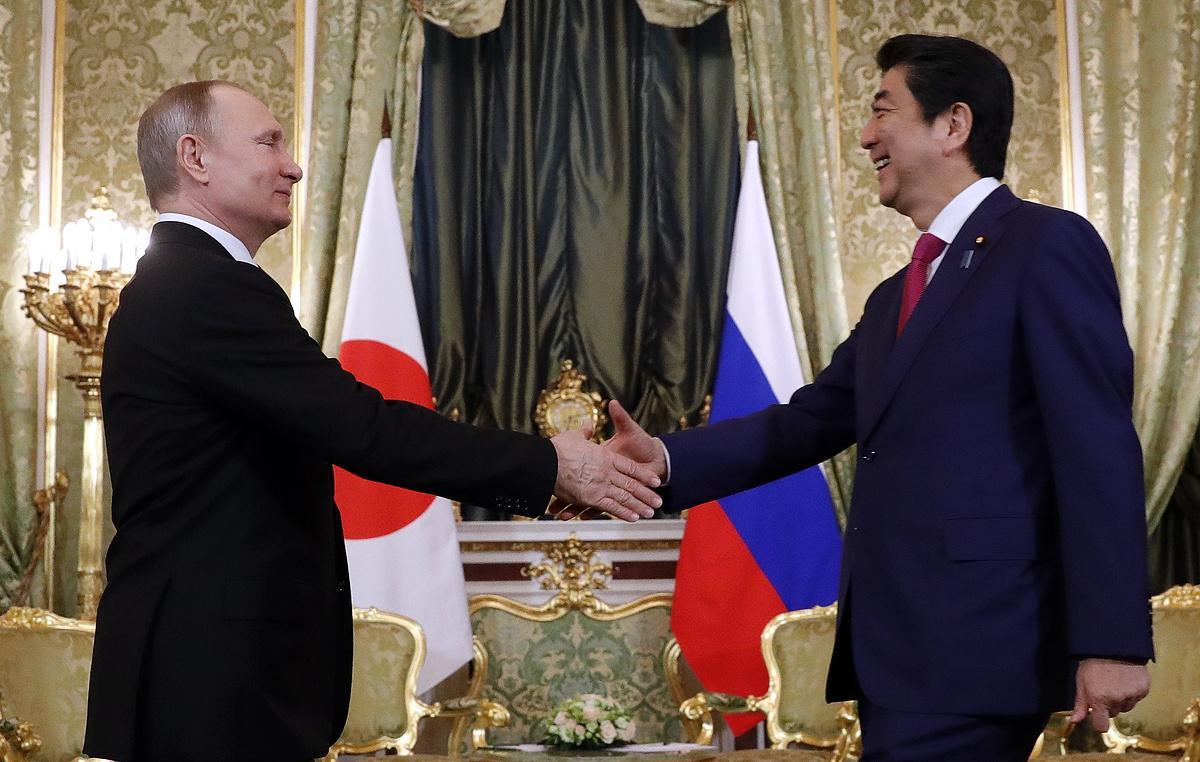 Итоги переговоров Путина и Абэ в Кремле
