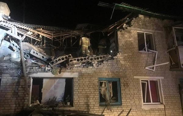Взрыв газа в Чистоозерном