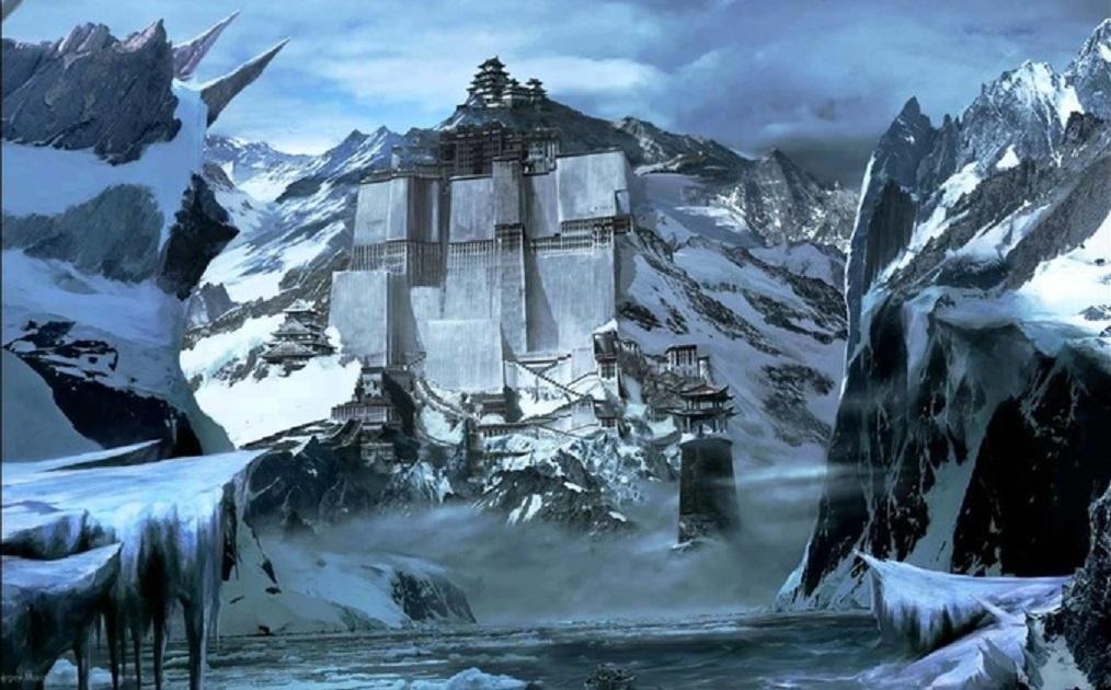 Наснимках Google Earth вАнтарктиде найдены руины таинственного гигантского замка