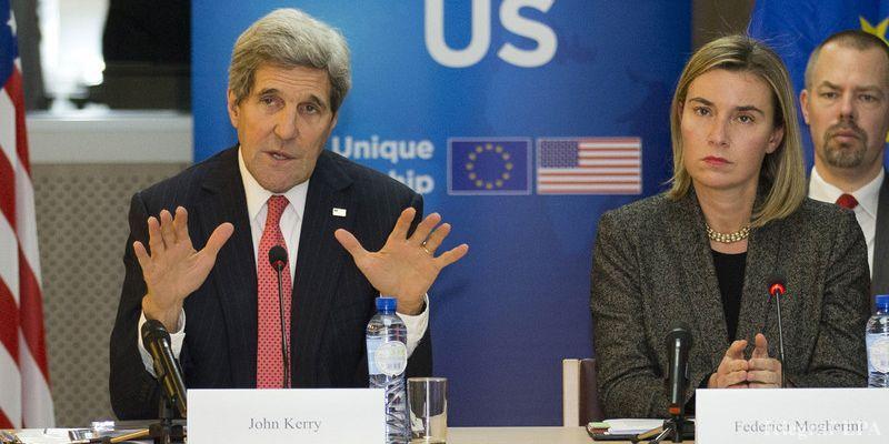 Главы МИД ЕС и США попросили Россию принять чрезвычайные меры по Сирии