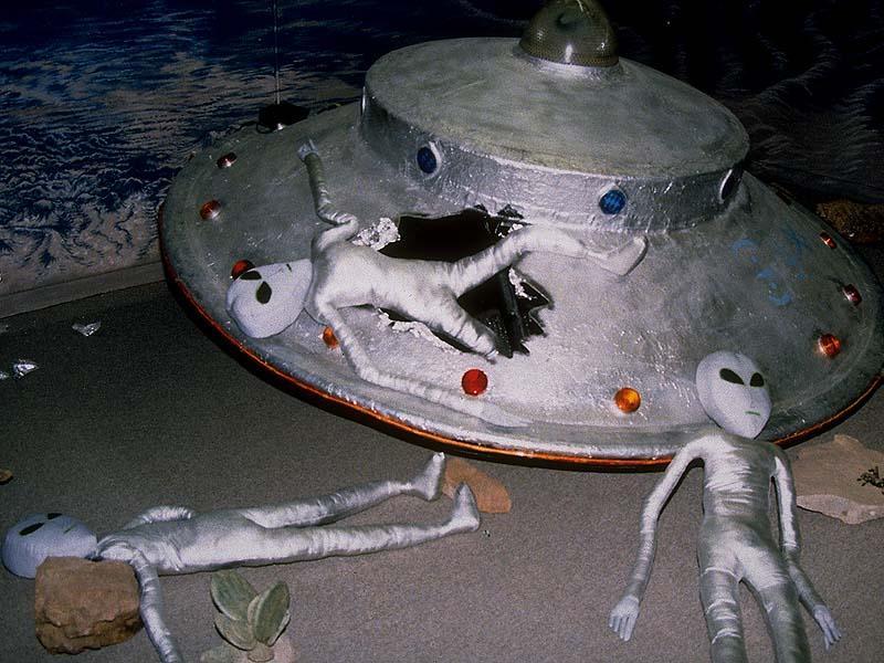 Уфологи отыскали наМарсе обломки космического корабля пришельцев