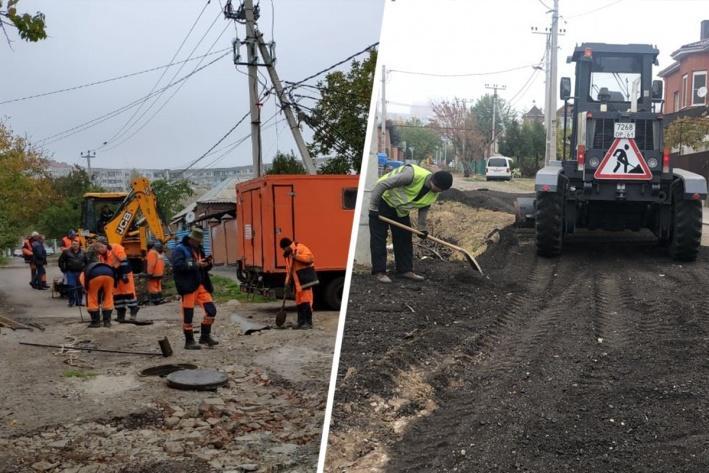 В Ростове стартовал ремонт самой «убитой» улицы в России