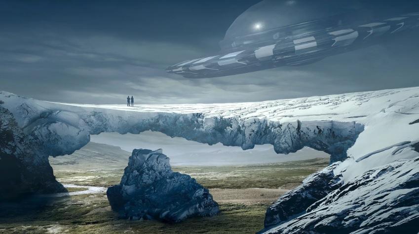 В Антарктиде обнаружены останки инопланетян, ученые не поверили своим глазам
