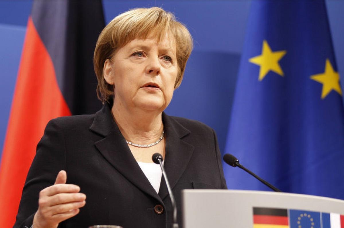 Меркель позитивно  оценила удары поСирии