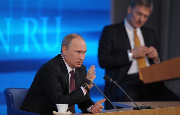 Песков назвал риторику санкций против России неперспективной