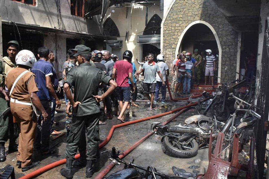 Данные о погибших при взрывах на Шри-Ланке