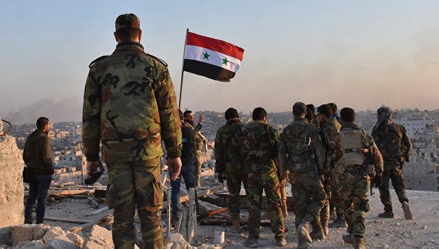 Последний успех армии Сирии стал сильным ответом США