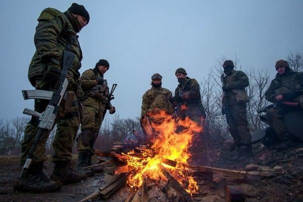 Грузинские наемники оставили позиции в Донбассе