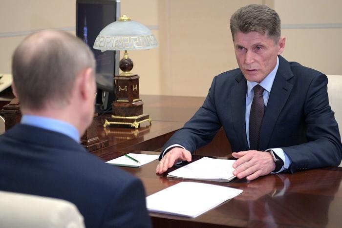 Выборы в Приморье выиграл Кожемяко