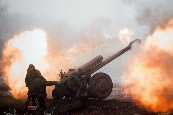 ВСУ атаковали Донбасс по нескольким направлениям