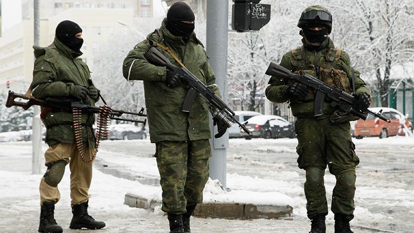Вежливые люди в Луганске