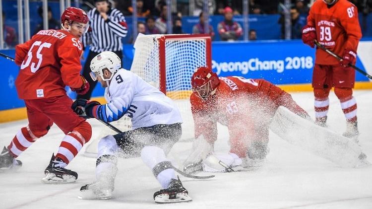 Нас не сломить: «убойная» американская провокация против российских хоккеистов на Олимпиаде-2018 провалилась
